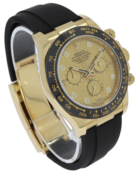 Daytona 18k Yellow Gold 116518LN Oyster Perpetual Cosmograph With Diamonds