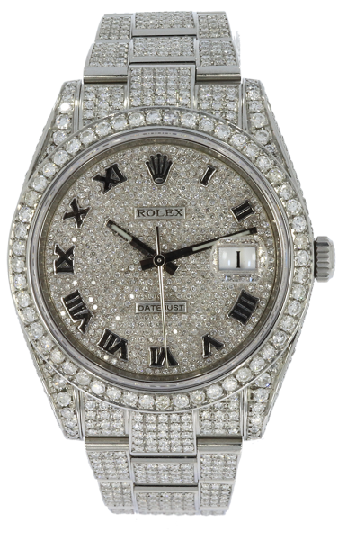 Datejust 41mm Diamonds 126300